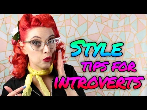TOP 5 Personal Style Tips For Introvert - Movie Inspirations // Fancy That | HISSYFIT