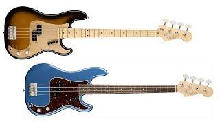 Fender American Original ?? Precision '50s vs '60s