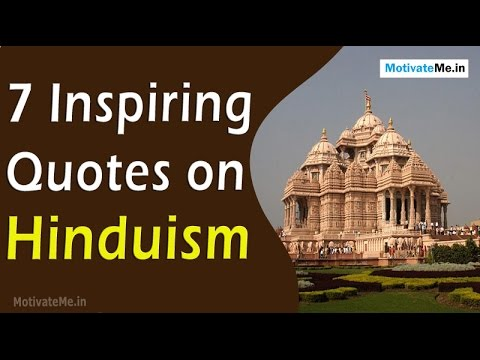 7 Inspiring Quotes on Hinduism - YouTube