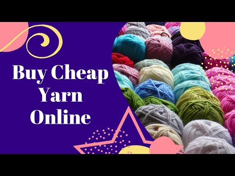 🔴LIVE: 25 Places To Buy Cheap Yarn Online & In Stores