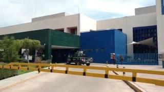 LESIONAN DE GRAVEDAD A HOMBRE CON ARMA DE FUEGO EN EMPALME, ESCOBEDO