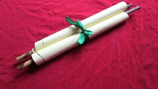 Create a Pretty Rolled Invitation Card - DIY Crafts - Guidecentral