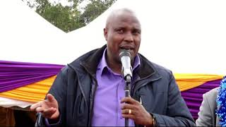 Daniel Rono MP Keiyo South Constituency says that Alfred Mutua should forget 2022