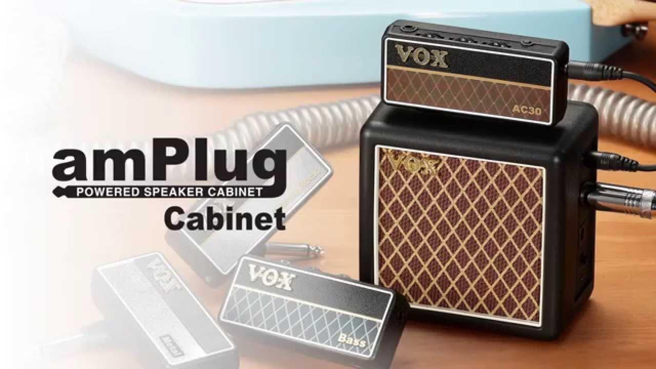 - New /& Improved 2015 Model AP2-BS Bass Vox Amplug 2