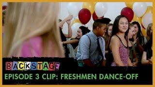 Backstage | Season 1: Episode 3 Clip - Freshmen Dance-Off