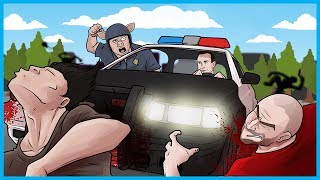 FREEZE! IT'S THE CRAZY POLICE! - H1Z1 King of the Kill Funny Gameplay Moments!