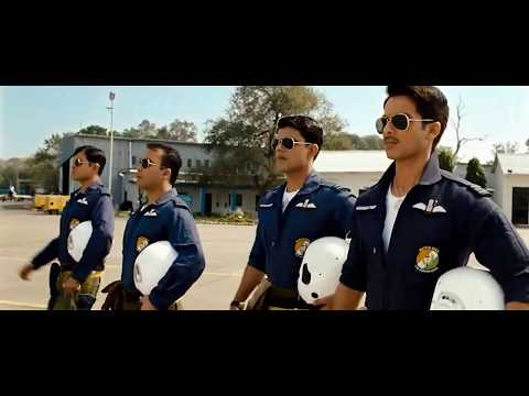 Indian air force  Dassault Mirage 2000-5 bombing scene from 2011 movie mausam(with english CC )