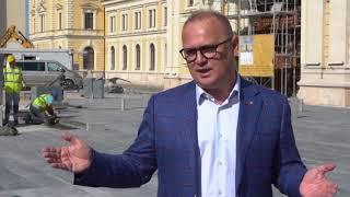Goran Vesic o rekonstrukciji Savskog trga i Beogradu nekad i sad