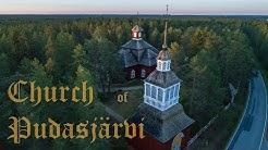 Pudasjärven kirkko kesäyönä