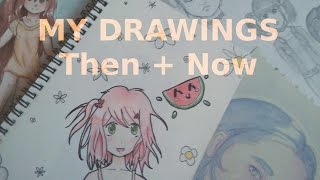 I hope you enjoyed this video! wanted to make so could see how much progress have made over the years. started drawing frequently at around age ...