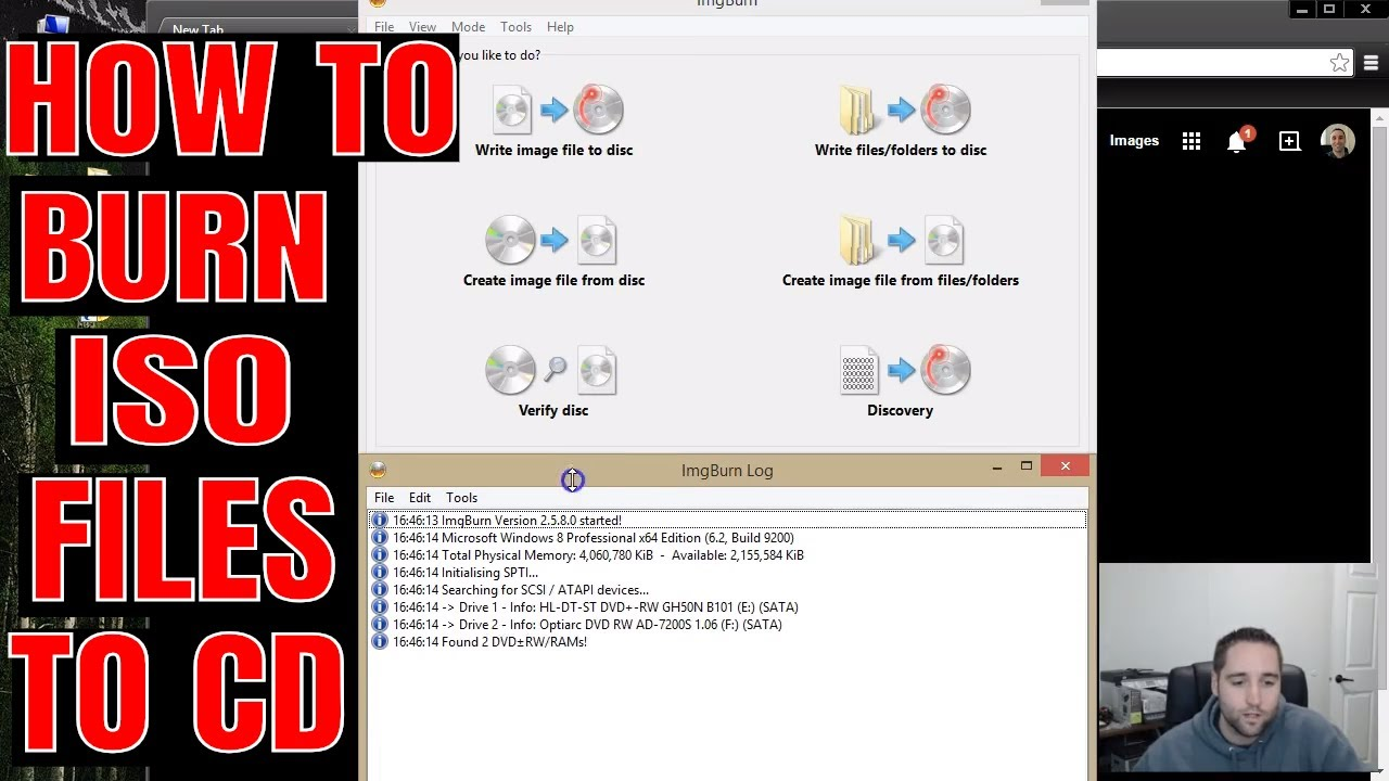How To Burn a Bootable ISO Image File To CD/DVD-ROM