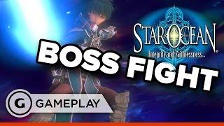 Destroyer Boss Fight - Star Ocean: Integrity and Faithlessness