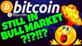 👀 BITCOIN STILL IN A BULL MARKET !? 👀 bitcoin litecoin price prediction, analysis, news, trading