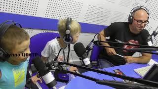 Мальчики в прямом эфире на радио!!! Первый опыт