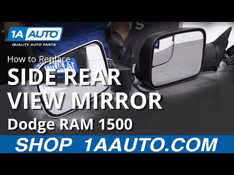 How to Replace Mirror Set 1994-1997 Dodge Ram 1500 Truck