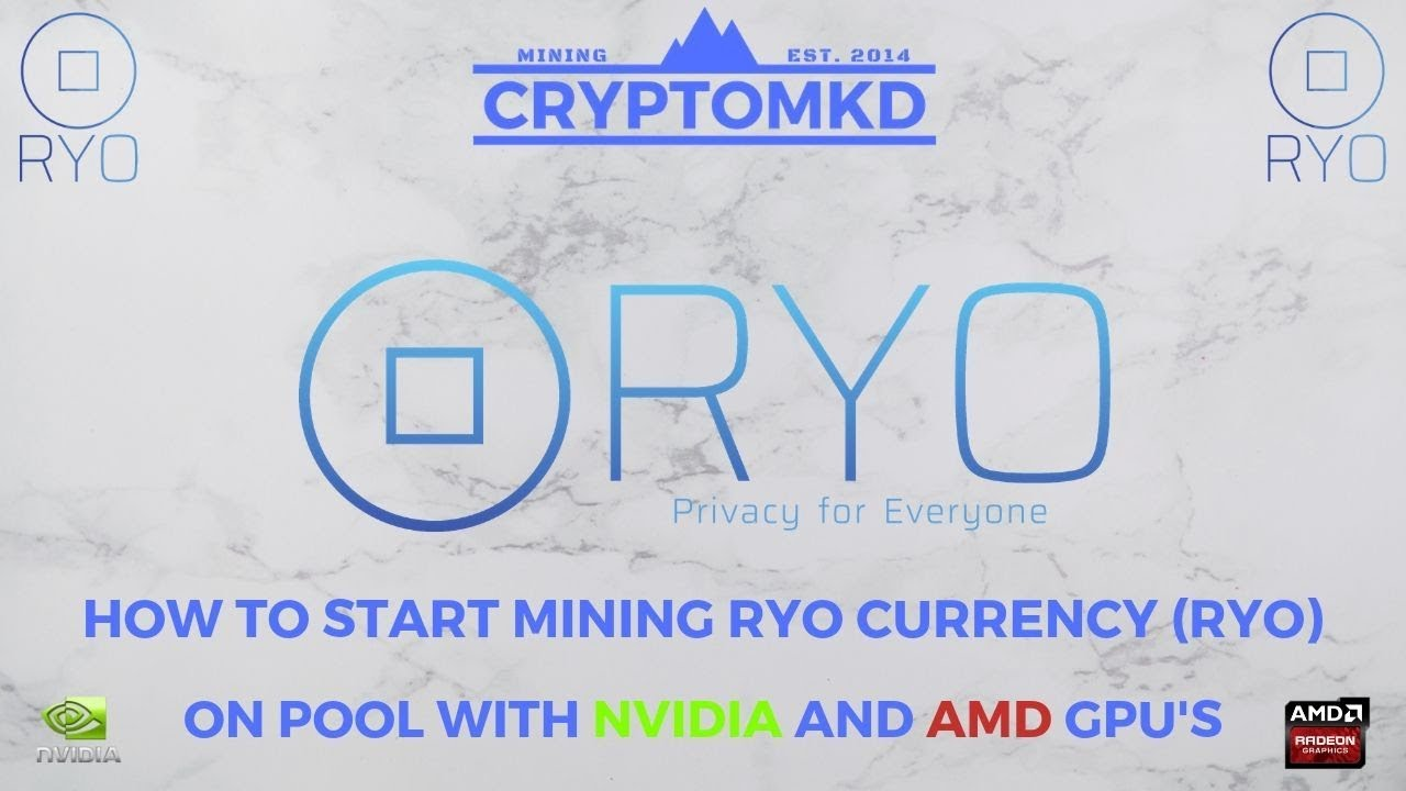 Methods to begin mining Ryo Foreign money (RYO) on pool with AMD and