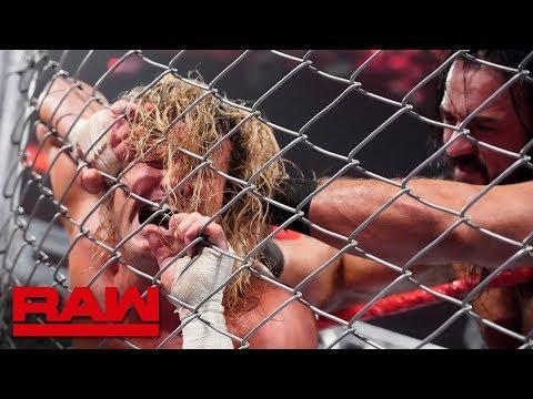 Dolph Ziggler vs. Drew McIntyre - Steel Cage Match: Raw, Dec. 31, 2018