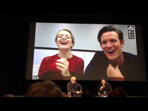 Q&A the crown with Claire Foy, Matt Smith and John Lithgow