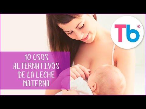 10 usos alternativos de leche materna