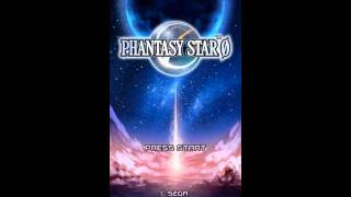 Phantasy Star Zero (Nintendo DS) - Title screen + european version opening