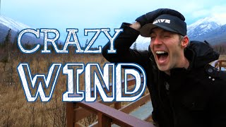 CRAZY WIND IN ALASKA - [Living in Alaska 95]