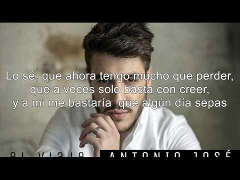 Aquí Estoy Yo, Antonio José Letra