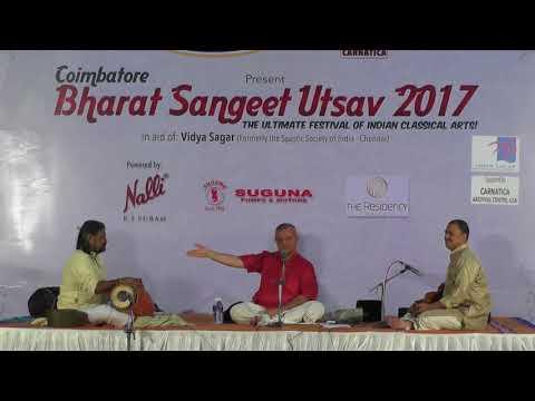 Prince Rama Varma l  Bharat Sangeet Utsav 2017 l Coimbatore