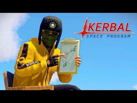 Running on space diesel - KSP animated