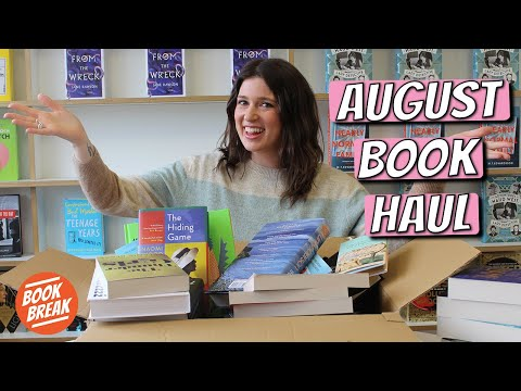 A Publishing House Book Haul | #BookBreak