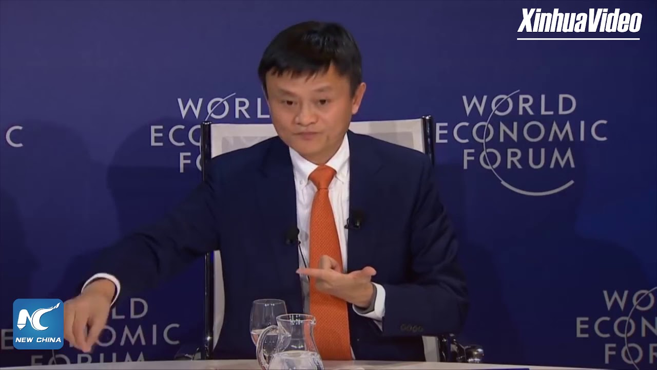 Jack Ma Everything We Teach Should Be Different From Machines Youtube