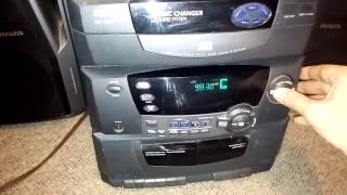 Free RCA 5 CD changer stereo model RS 1285