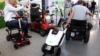 Kleinster Travel Rollstuhl Faltbarer Elektro Scooter