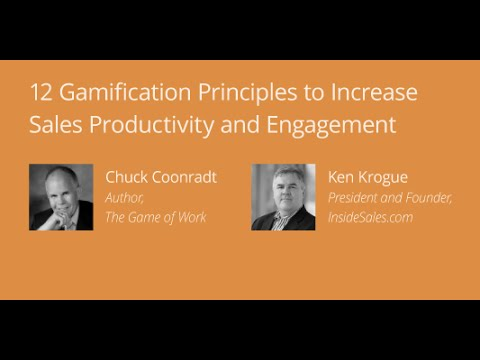 12 Gamification Principles to Increase Sales Productivity and Engagement