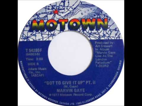 MARVIN GAYE  Got To Give It Up   1977    HQ