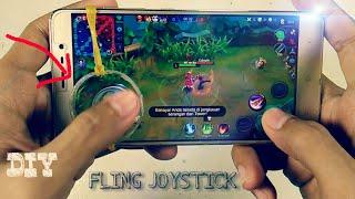 cara mudah membuat fling joystick -  cocok buat main mobile legends v.1.0
