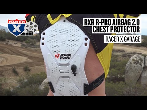 Racer X Garage: RXR R-Pro Airbag 2.0 Chest Protector