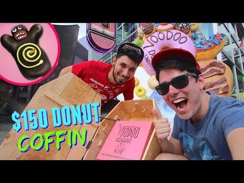 INSANE $150 VOODOO DOUGHNUTS COFFIN At Universal Orlando CityWalk