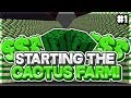 CACTUS IS OP! ~ BATTLEMADE FACTIONS EP #1 (Minecraft Factions)
