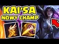 KAI'SA - NOWY CHAMPION TO OP JUNGLER! (TEST NA PBE)