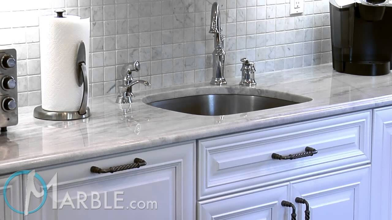 High Quality Classic White Lunar Quartzite Kitchen Countertops By Marble.com   YouTube