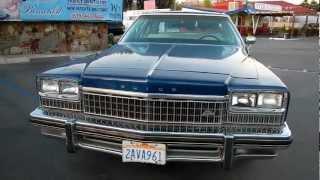 1975 Buick Electra 225 Limited Landau Impala Caprice Chevy Park Avenue ?