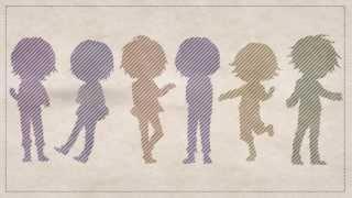 This song is MUGIC, sung by nero, clear, Rib, Soraru, Lon and Kashi...