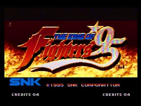 タイトルデモ - THE KING OF FIGHTERS '95(ROMカセット版)