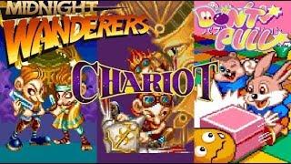 Capcom Classics Collection Vol. 2 (PlayStation 2) - Three Wonders: Chariot Full Game