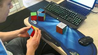 my main speedcubes 3x3 7x7