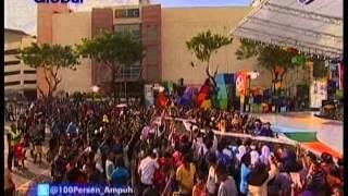 Irma Darmawangsa live - Bocor at Globaltv 100%Ampuh