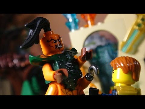 LEGO NINJAGO THE MOVIE PART 23 - TRAILER 2 - SKYBOUND - CONQUEST OF NADAKHAN