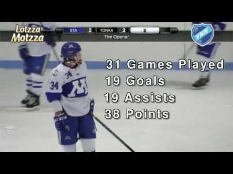 Teddy Lagerback Minnetonka H S Mn Class Of 2020 Hockey Highlights