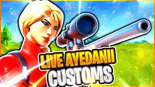 🔴(NA-EAST) CUSTOM MATCHMAKING FORṪNITE LIVE /SOLOS, DUOS, SQUADS/ SCRIMS #custommatchmaking #ad