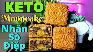 Ngon Ngất Ngây Bánh Trung Thu KETO Thập Cẩm Sò Điệp- Traditional Baked MOONCAKE Scallops [Engsub]